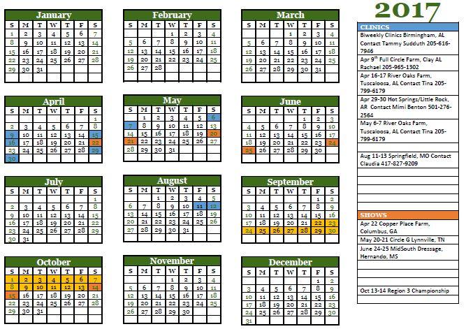 Calendar 2017 Image